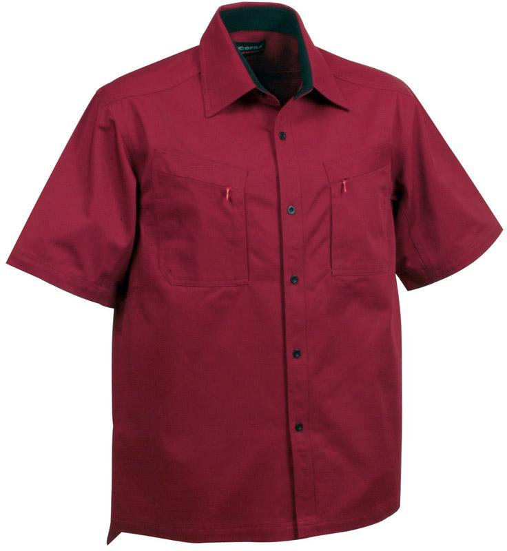 c12bec82853a8b Camicia Manica Corta Cofra Hawaii 120 Grmq 95 Cotone 5 Lycra