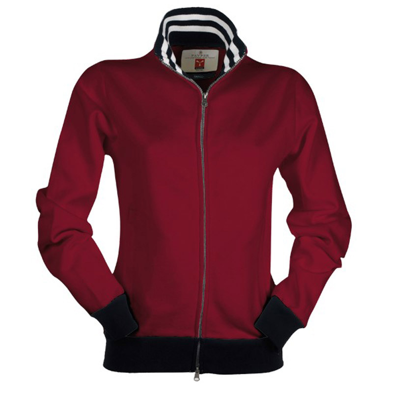 Felpa Payper Brooklyn Lady Donna Fullzip Bicolore