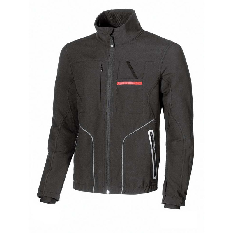 Giacca in SoftShell U-POWER STOP, per il comfort
