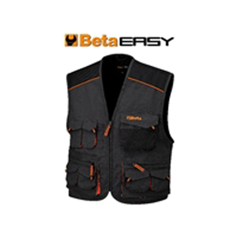 Gilet Easy Canvas Grey BETA-079070900 art 7907E