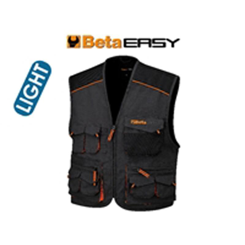Gilet Easy Twill 180Gr Grey BETA-078670900 art 7867E