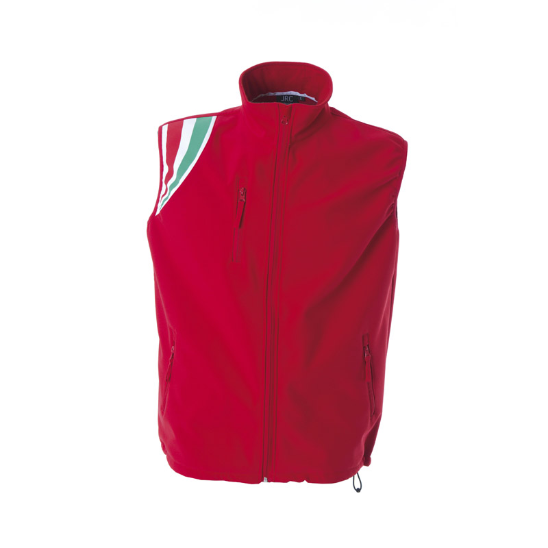 Gilet in Softshell James Ross Livigno