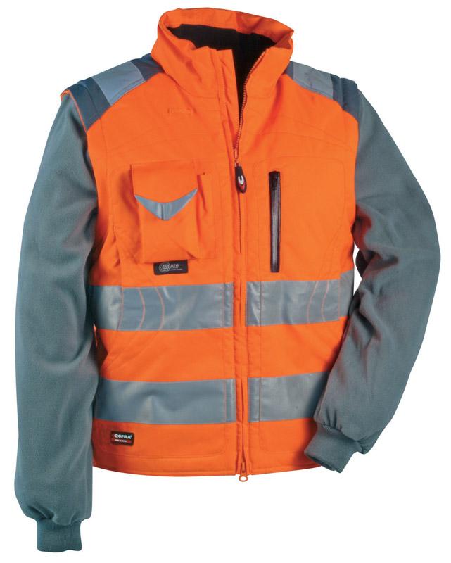 Giubbino Cofra Signal Alta Visibilità Arancio 44  Giubbini  Abbigliamento Alta Visibilita