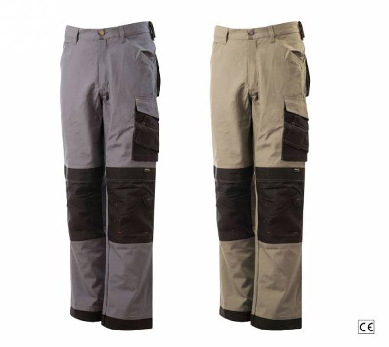 Pantaloni Tech Canvas Cordura Blue-Tech 589