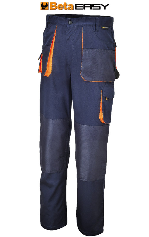Pantaloni Beta Easy Twill 180Gr Blue Art 7870E 078700900
