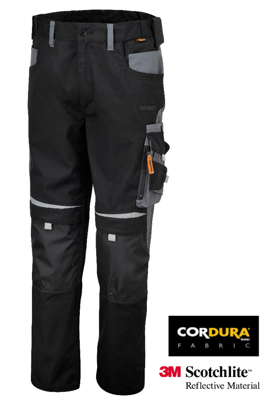 Pantaloni Beta Work Canvas Black Art 7820 078200000