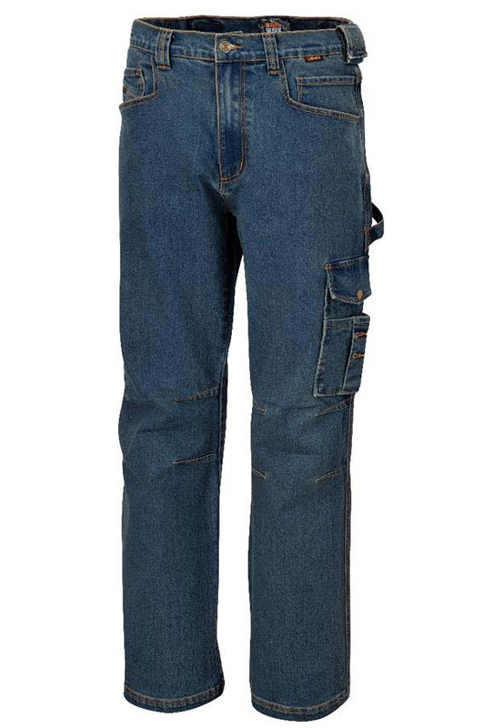 Pantaloni Da Lavoro Jeans Beta 7525 Denim Stretch