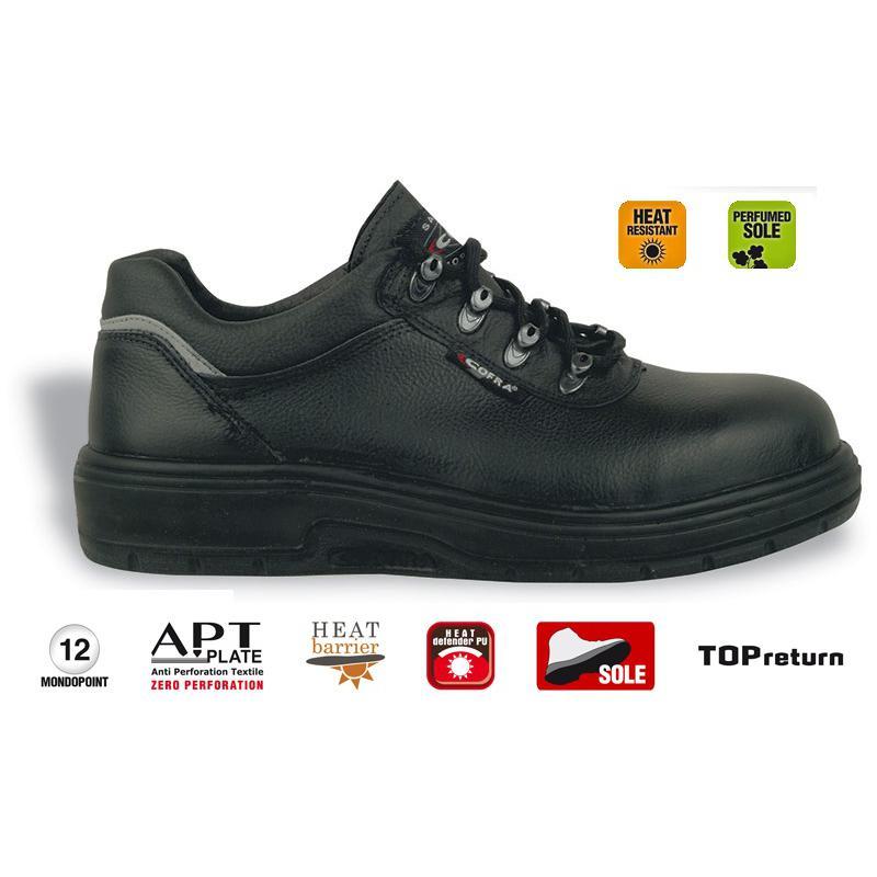 Scarpe antinfortunistiche per asfaltisti