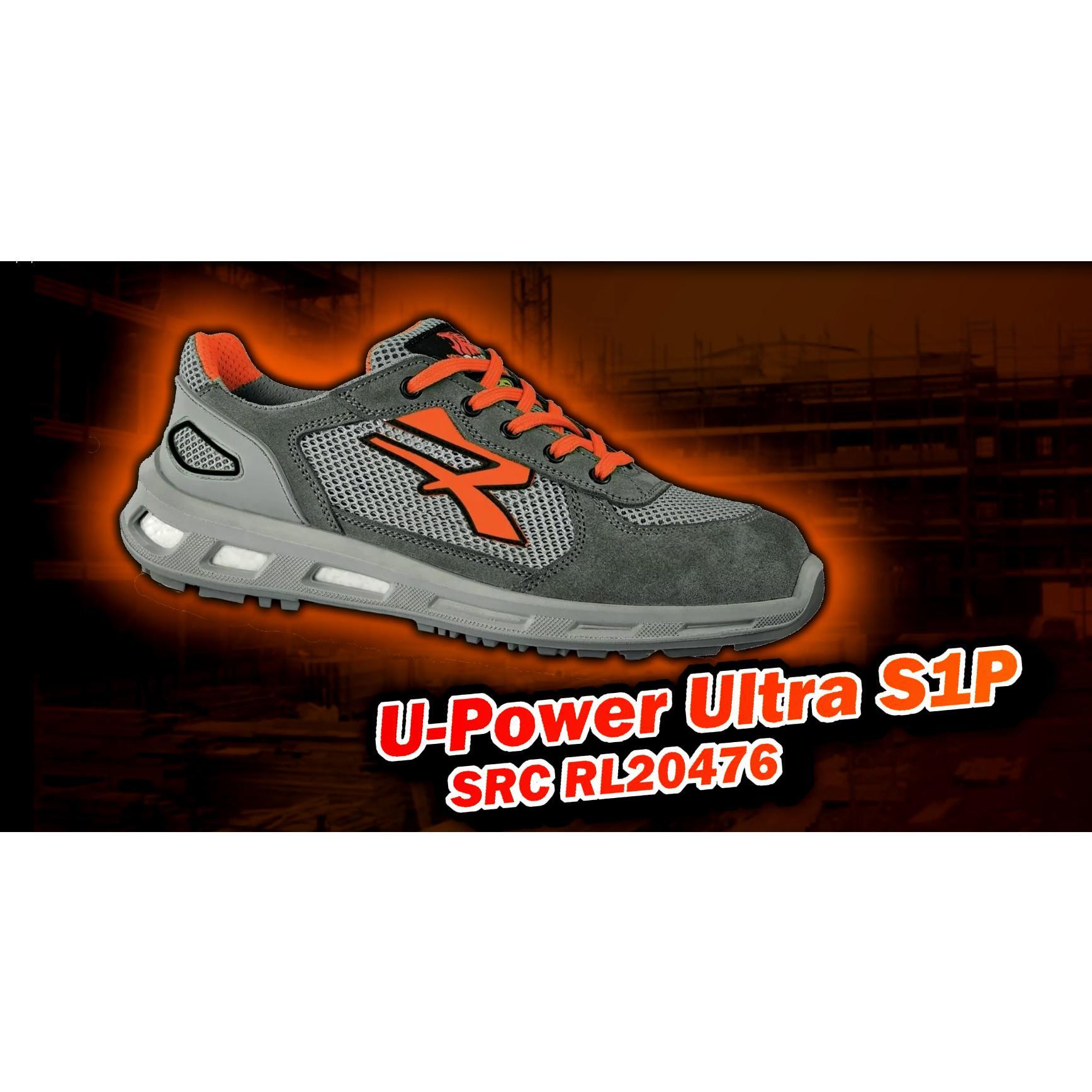 UPOWER SCARPE LAVORO ANTINFORTUNISTICA ULTRA S1P SRC ESD U-POWER RL20476 REDLION