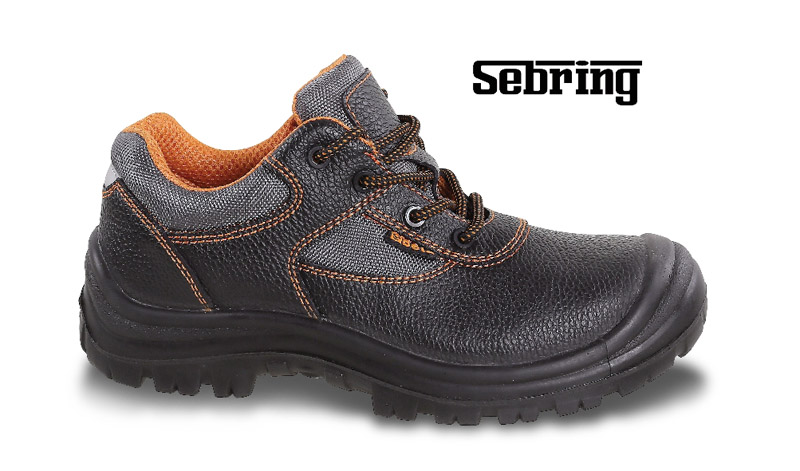 Scarpe B-Plus/E Beta Sebring Low Pelle S3 Nere Pe Art 7220Pe 072200135