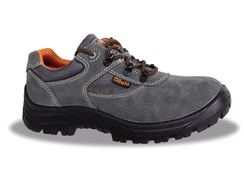 Scarpe Basic Beta Scamosciate Basse S1P Grey Art 7248G 072480135