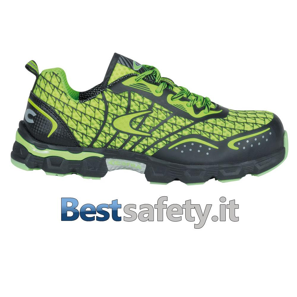 Scarpe Cofra Low Kick Lime S1P Src