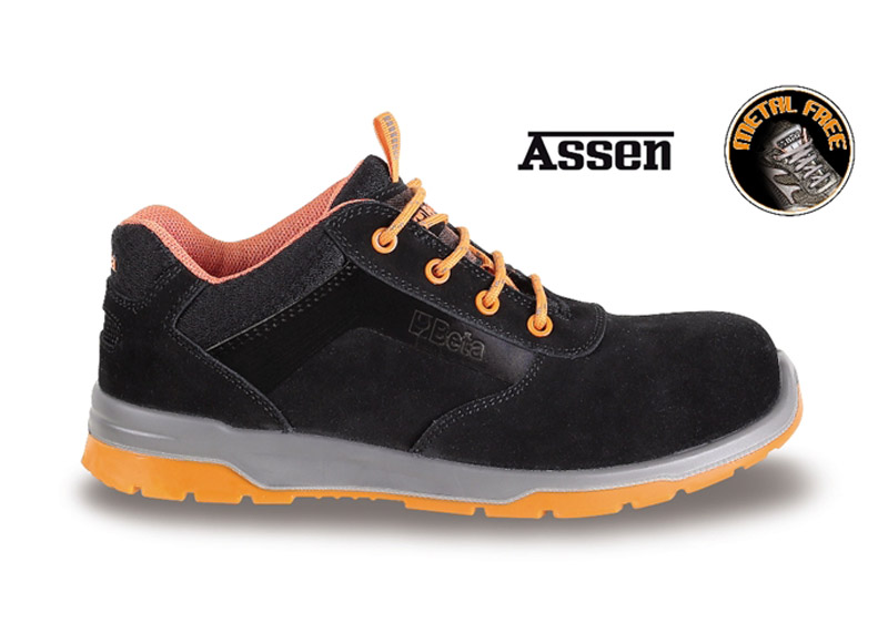 Sneakers Beta Assen Scamosciate S3 Black Art 7316N 073160535
