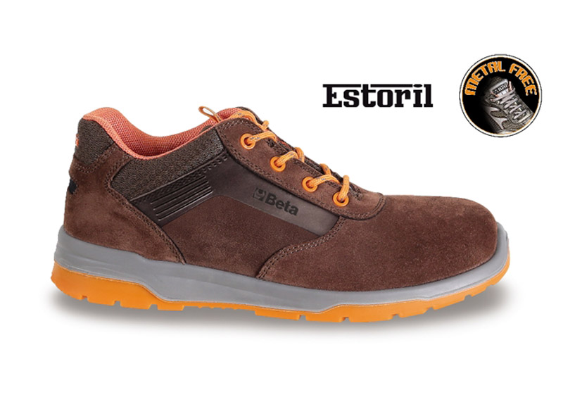 Sneakers Beta Estoril Basse Scam. S3 Brown Art 7320M 073200335