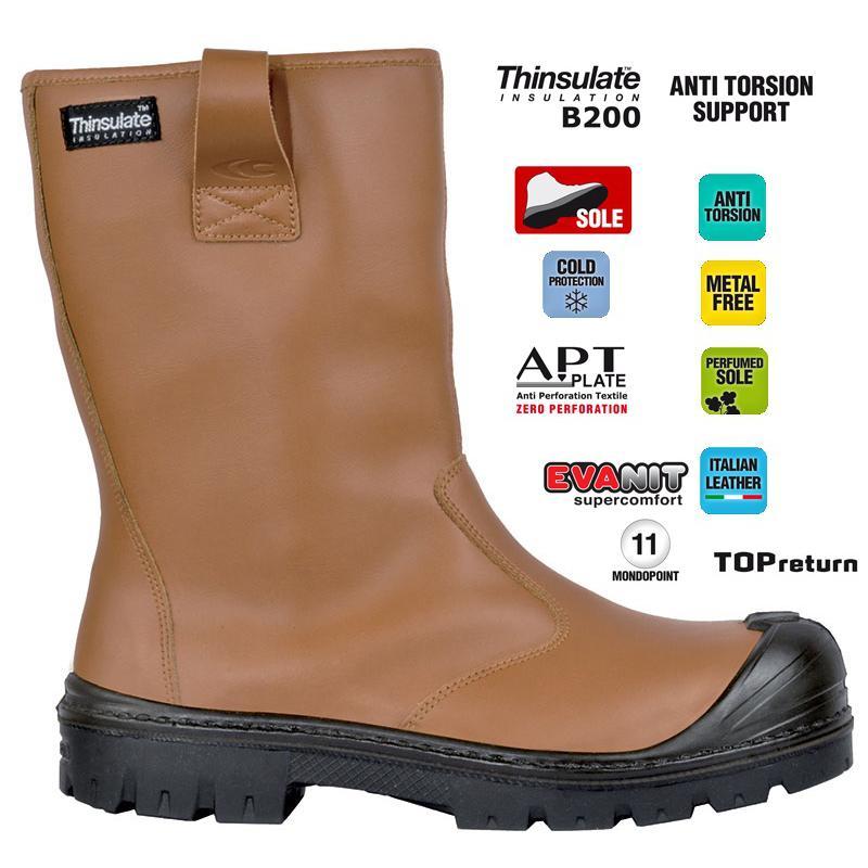 Stivale antinfortunistico LATITUDE 543 HIGH S3 SRC ESD WR CI , nero 701.161251 80013 calzature diadora Antinfortunistica abbigliamento calzature