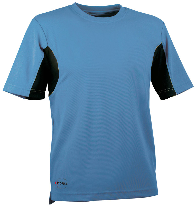 T-Shirt Cofra Caribbean cotone cooldry